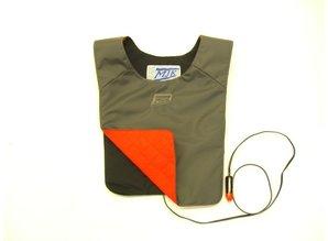 MJK Leathers Verwarmd Vest