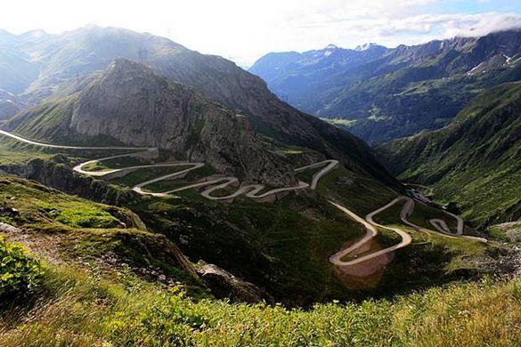 Gotthard pas Zwitserland