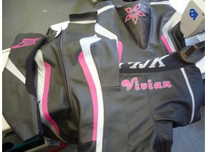MJK Leathers Imatra Leren Dames Raceoverall