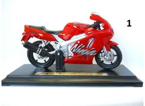 Maisto Suzuki en Kawasaki Model Motoren Schaal 1:18