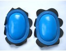 MJK Leathers Knee Sliders Retro Knee Sliders Blauw