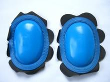 MJK Leathers Knee Sliders Retro Knee Sliders Blauw