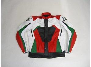 MJK Leathers Adventure Italia Leren Motorjack