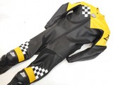 MJK Leathers Finish Retro Motor Raceoverall