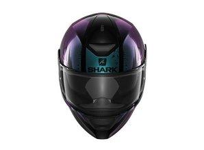 Shark D-Skwal Dharkov Dames Integraal Motorhelm Violet Glitter
