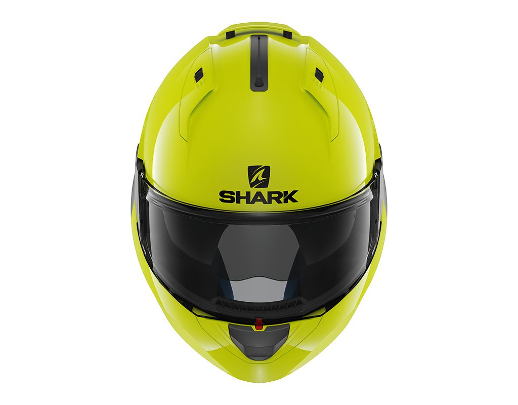 shark evo one 2 high visibility systeemhelm mjk leathers. Black Bedroom Furniture Sets. Home Design Ideas