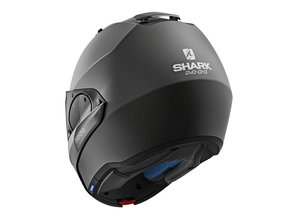 Shark Evo-One Systeemhelm Blank (mat-zwart)