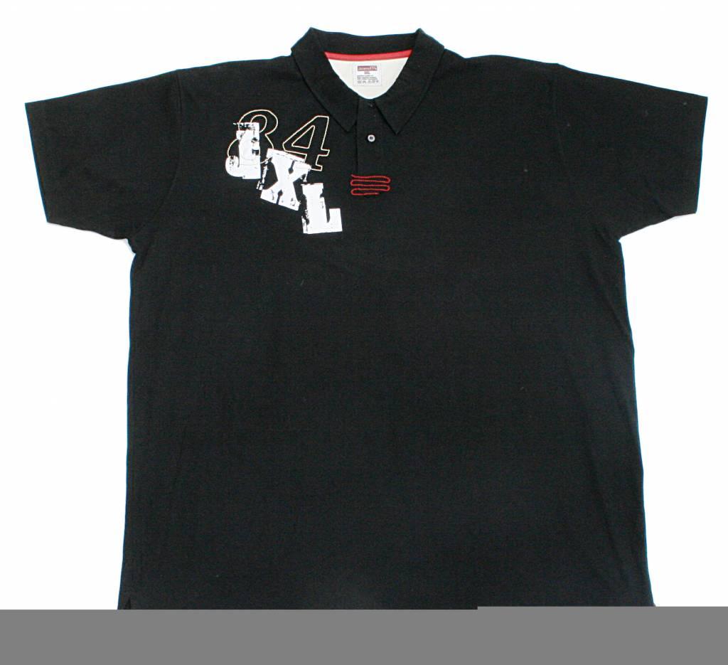 JEANSXL 662 zwarte grote maten polo