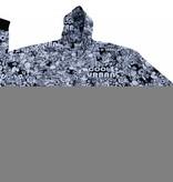 JEANSXL 103 zwarte grote maten sweatcardigan