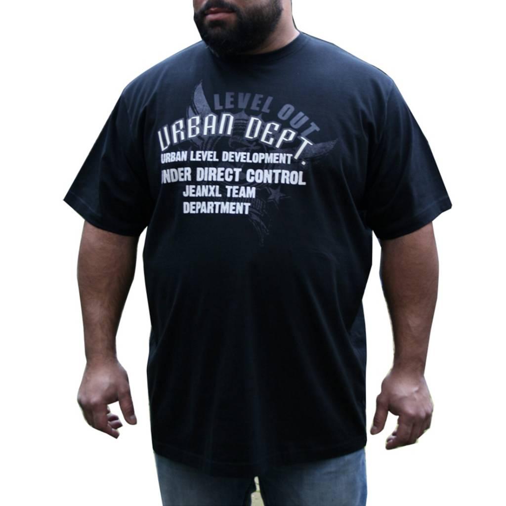 JEANSXL 716 zwarte grote maten T-shirt