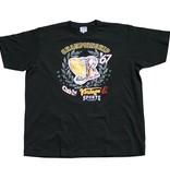 VANDAM 7710 zwarte grote maten T-shirt