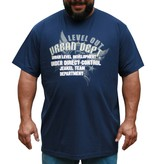 JEANSXL 717 Grote maten Blauw T-shirt