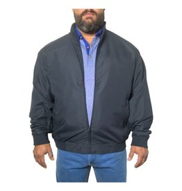 Kingsize Brand JT056 Blauwe grote maten Zomerjas
