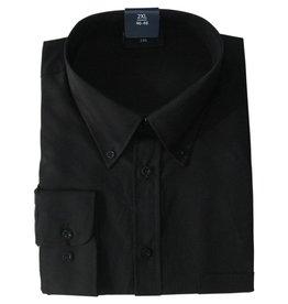 Kingsize Brand LS110 zwarte grote maten overhemd