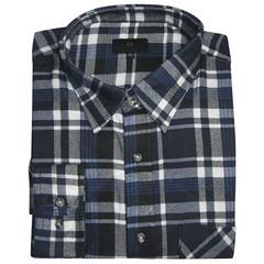 Kingsize Brand COK.15641 Grote maten blauwe overhemd