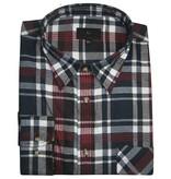Kingsize Brand 15642 Grote maten rood / blauwe overhemd