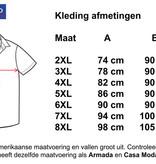 Kingsize Brand 15642 Grote maten Rood/Blauw Overhemd