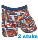 FUNDERWEAR 75344 Duo pack Havana grote maten boxer short