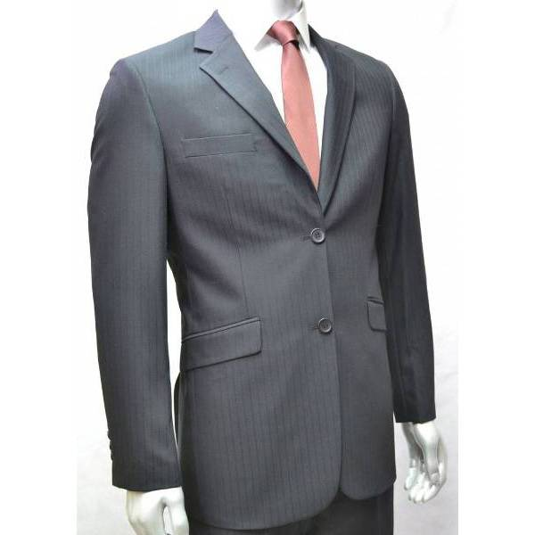 V&H Suits 300 Grote maten Zwart Kostuum