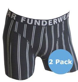 FUNDERWEAR 75281 Kruitstreep grote maten boxer short