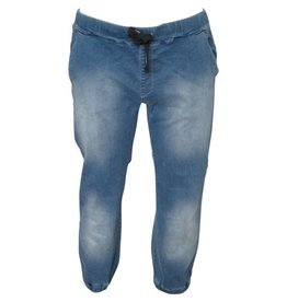 JackSantos J4001 Blauwe grote maten Stretch Jog Jeans