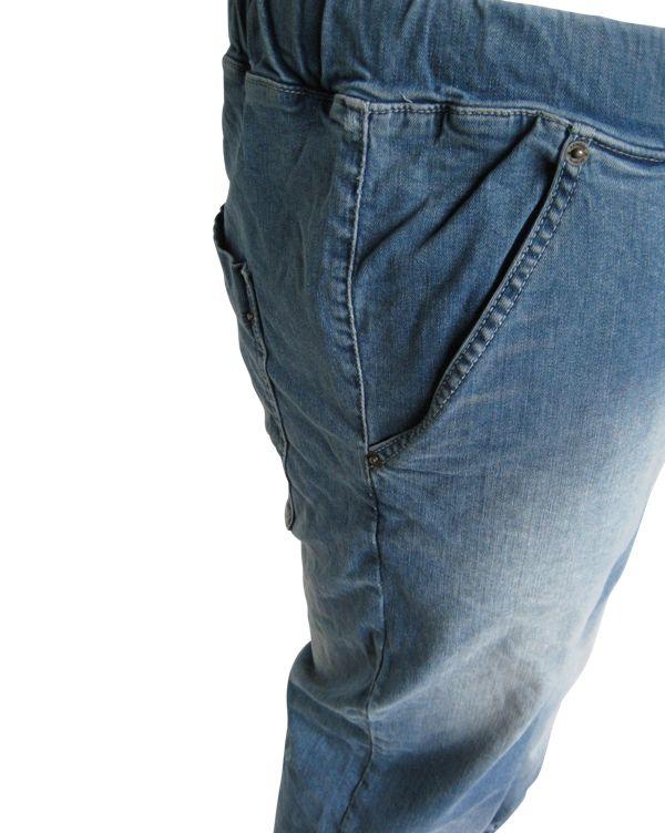 JackSantos J4001 Grote maten Blauwe Stretch Jog Jeans