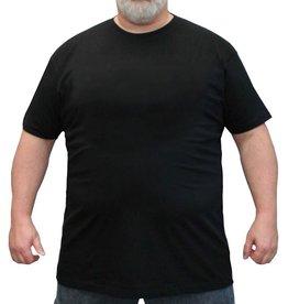 Kingsize Brand TS100 Grote maten Zwart T-shirt