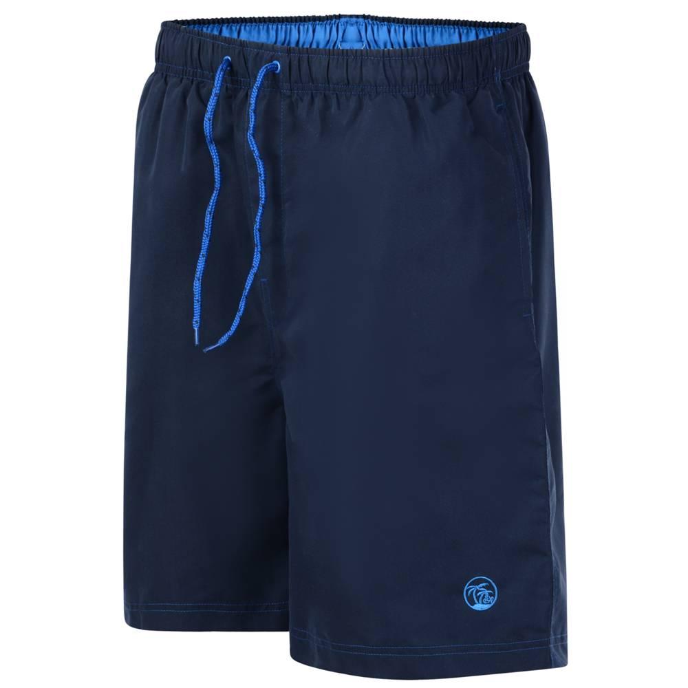 Kingsize Brand SW572 Grote maten Navy Blue Zwemshorts