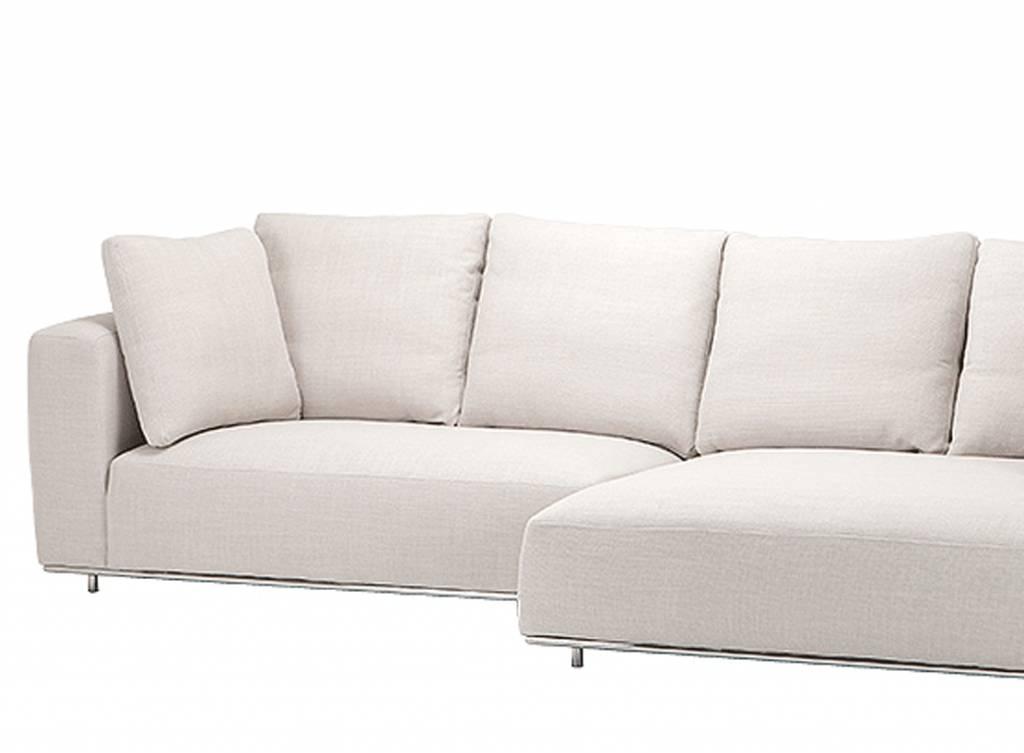 EICHHOLTZ ONLINE Sofa Colorado Lounge Creme-wit, donkergrijs, grijs en zwarte hoekbanken van ...