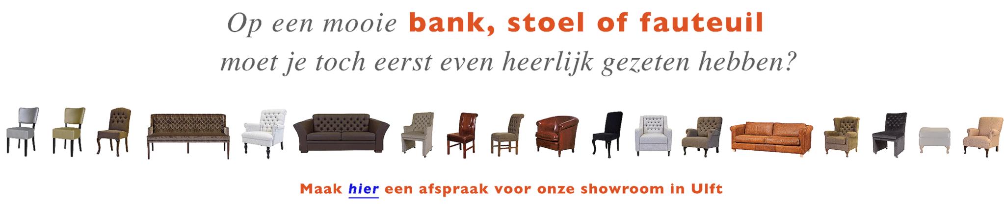 stoelenen-banken-fabriek-alle-kleuren-stof-leer showroom