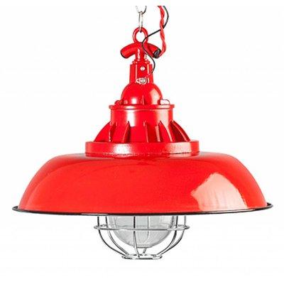 Industriële hanglamp - Rood 38cm