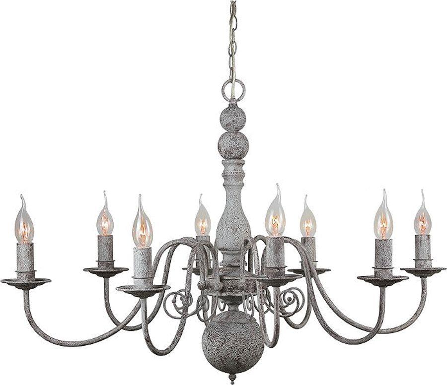 Franse landelijke Hanglamp oud-grijs / old grey nostalgie. Vintage ...