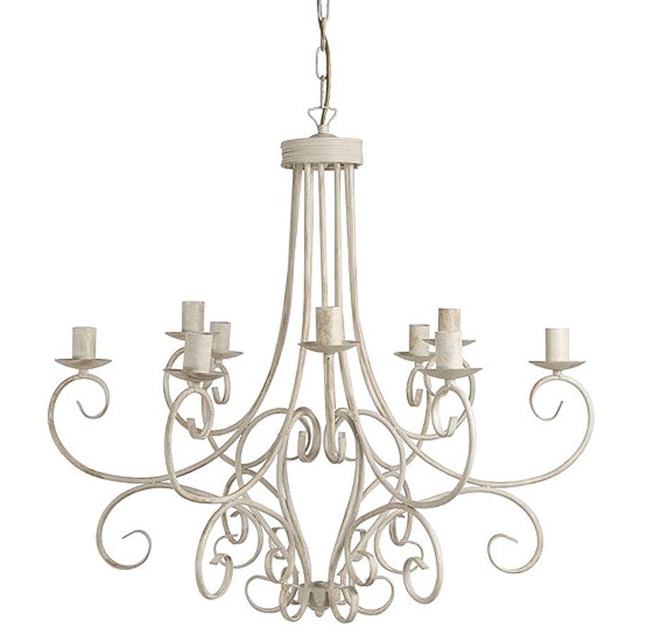 Hanglamp Keuken Landelijk : Franse Hanglampen in antiek wit en grijs. Eichholtz webshop lighting