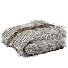 Lifestyle Ostrich fur Plaid 140x180 cm
