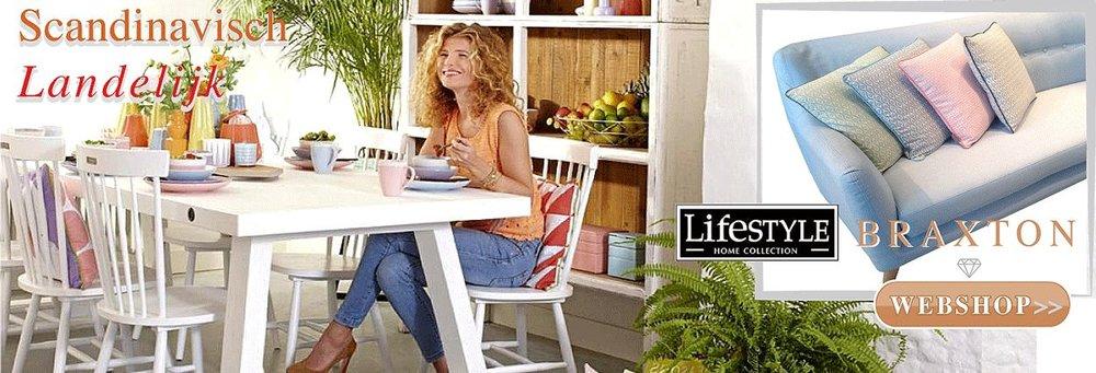 Braxton Lifestyle landelijk Scandinavisch wooninterieur meubels nieuwe collectie