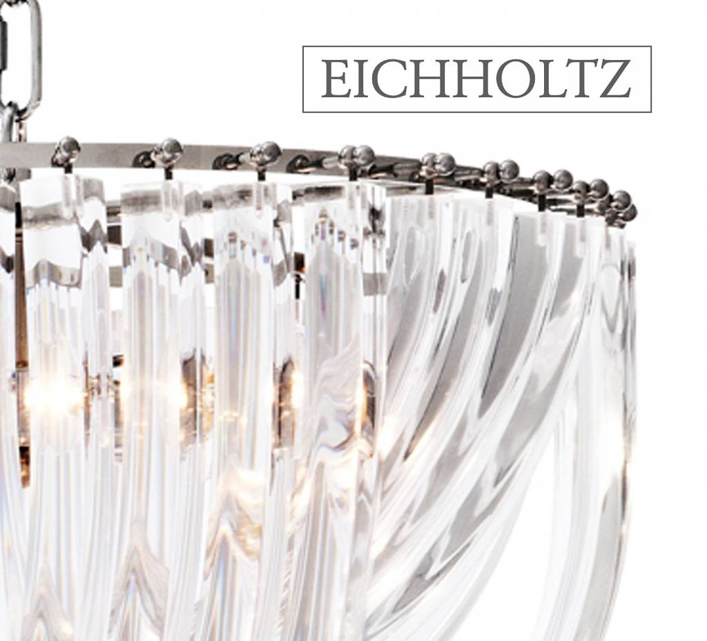 Merk eichholtz lighting moderne hanging lamps glass for Eichholz interieur