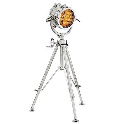 Eichholtz Floor lamp Royal Master Sealight Polished Aluminium