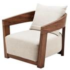 Eichholtz Stoel Chair Rubautelli Brown