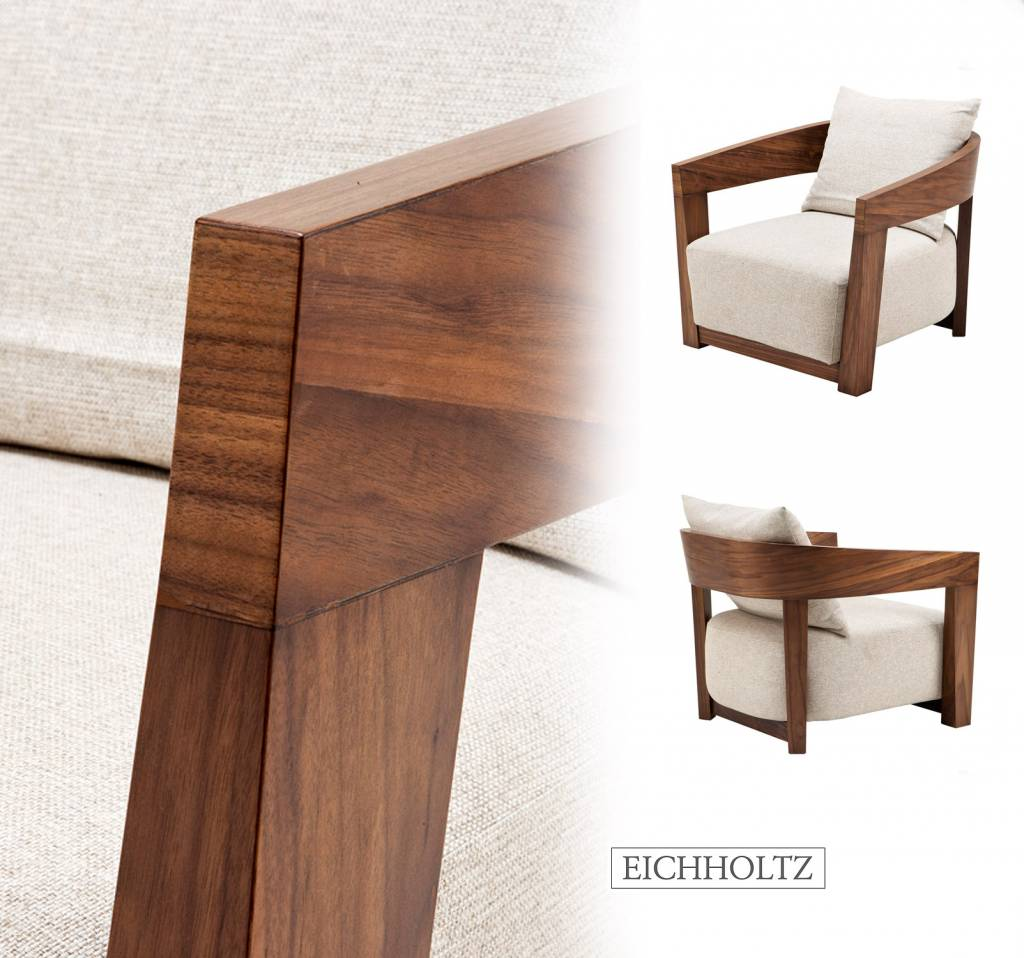 EICHHOLTZ CHAIR Rubautelli balc, brown en steel. STOEL/FAUTEUIL ...