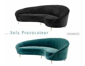 Eichholtz Sofa Provocateur turquoise zeegroen