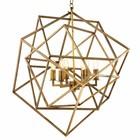 Eichholtz Hanglamp Lantern Matrix brons H. 78cm