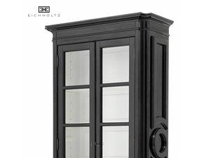 Eichholtz Cabinet Grand Royale Hoge vitrinekast 240cm zwart