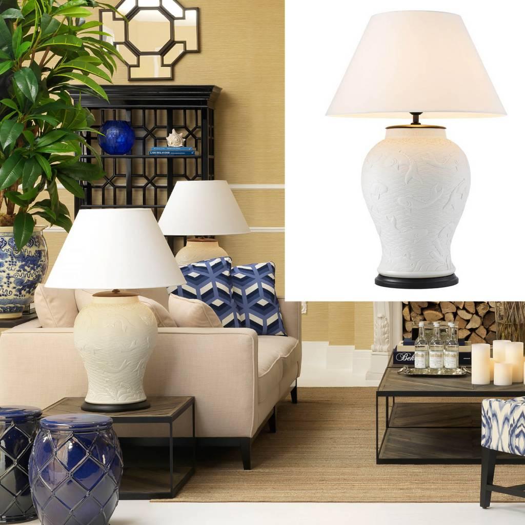 eichholtz tafellamp table lamp dupoint tafellampen met witte kap en grote witte tafellamp met. Black Bedroom Furniture Sets. Home Design Ideas