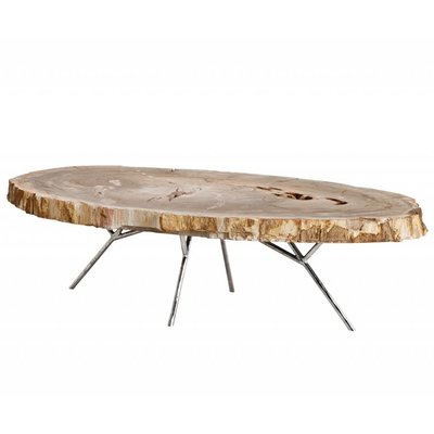 Eichholtz Coffee Table Barrymore versteend hout