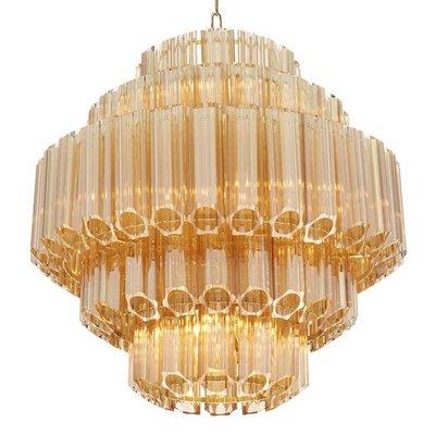 Eichholtz Chandelier Vittoria S Gold glass