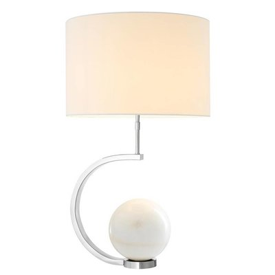 Eichholtz Tafellamp Table Lamp Luigi marble wit