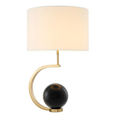 Eichholtz Tafellamp Table Lamp Luigi marble zwart