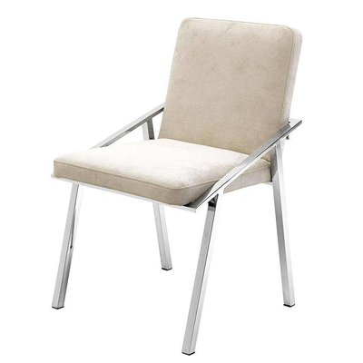 Eichholtz Stoel Chair Reynolds off white Ecru