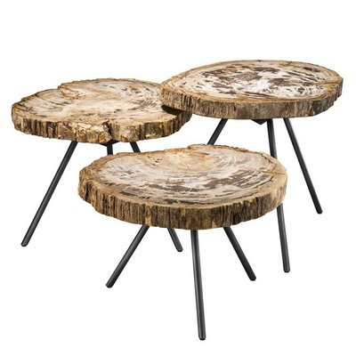 Eichholtz Salontafel Coffee Table De Soto set of 3