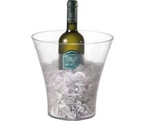 Wijn- en champagne koeler kunststof